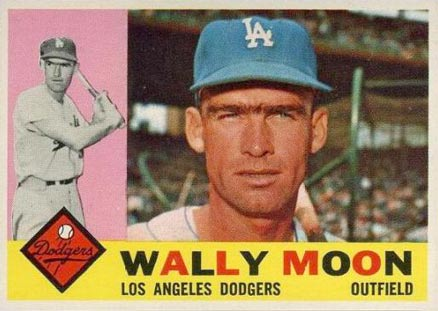 1960 Topps Wally Moon #5 Baseball Card