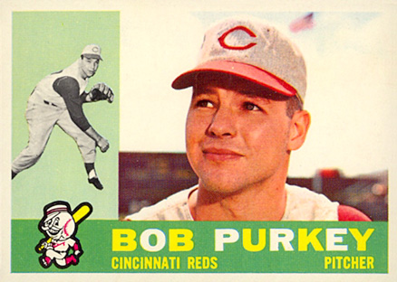 1960 Topps Bob Purkey #4 Baseball Card