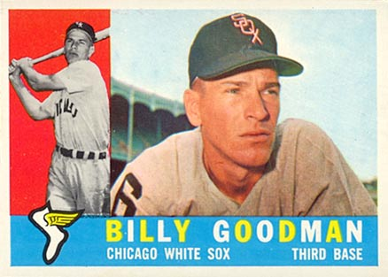 1960 Topps Billy Goodman #69 Baseball Card
