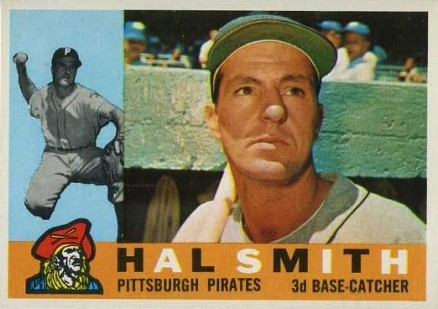 1960 Topps Hal Smith #48 Baseball Card