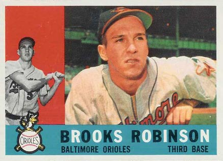 1960 Topps Brooks Robinson #28 Baseball Card