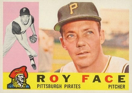 1960 Topps Roy Face #20 Baseball Card