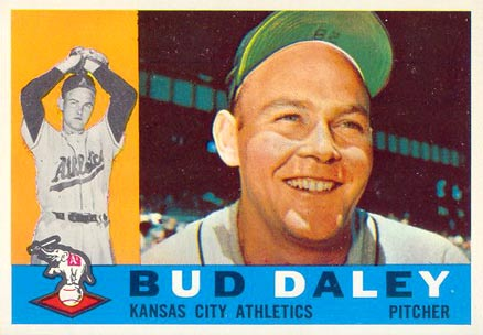 1960 Topps Bud Daley #8 Baseball Card