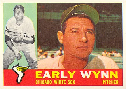 1960 Topps Early Wynn #1 Baseball Card