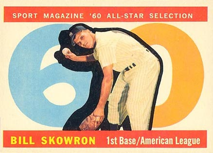 1960 Topps Bill Skowron #553 Baseball Card