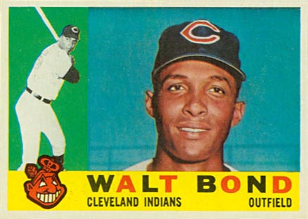 1960 Topps Walt Bond #552 Baseball Card