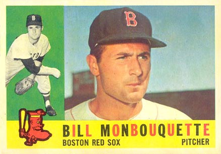 1960 Topps Bill Monbouquette #544 Baseball Card