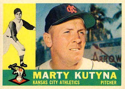 1960 Topps Marty Kutyna #516 Baseball Card