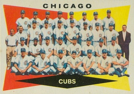 1960 Topps Chicago Cubs Team #513 Baseball Card