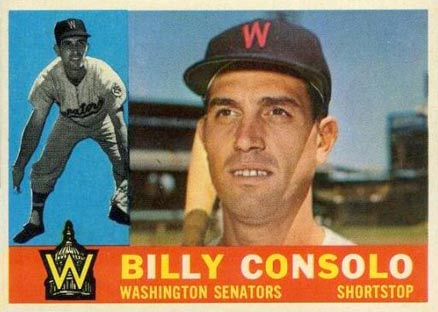 1960 Topps Billy Consolo #508 Baseball Card