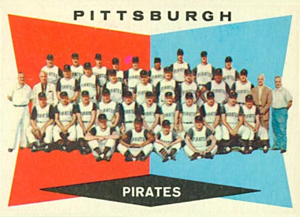 1960 Topps Pittsburgh Pirates Team #484 Baseball Card