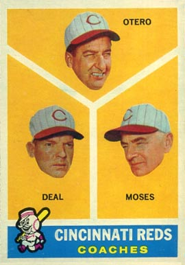 1960 Topps Red Coaches #459 Baseball Card
