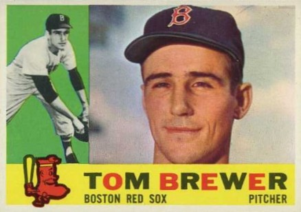 1960 Topps Tom Brewer #439 Baseball Card