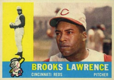 1960 Topps Brooks Lawrence #434 Baseball Card