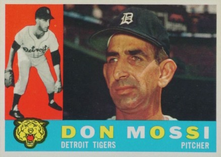 1960 Topps Don Mossi #418 Baseball Card