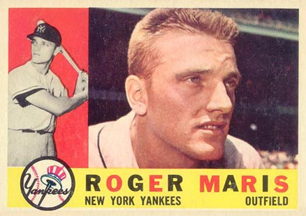 1960 Topps Roger Maris #377 Baseball Card