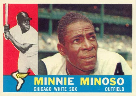 1960 Topps Minnie Minoso #365 Baseball Card