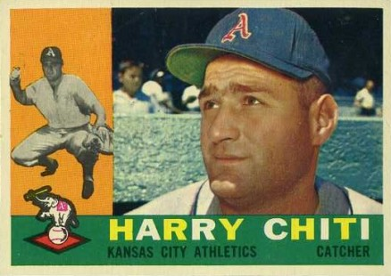 1960 Topps Harry Chiti #339 Baseball Card