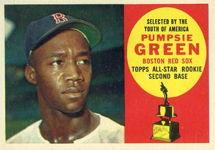 1960 Topps Pumpsie Green #317 Baseball Card