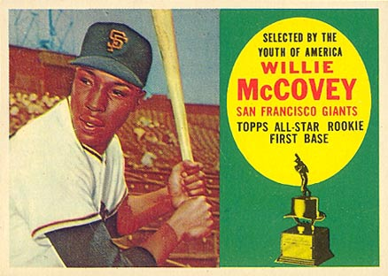 1960 Topps Willie McCovey #316 Baseball Card