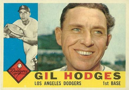 1960 Topps Gil Hodges #295 Baseball Card