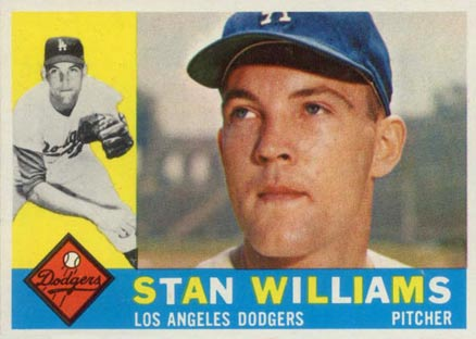 1960 Topps Stan Williams #278 Baseball Card