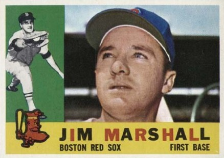 1960 Topps Jim Marshall #267 Baseball Card