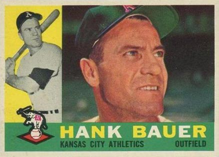 1960 Topps Hank Bauer #262 Baseball Card