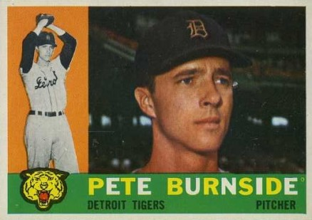 1960 Topps Pete Burnside #261 Baseball Card