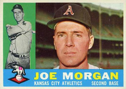 1960 Topps Joe Morgan #229 Baseball Card