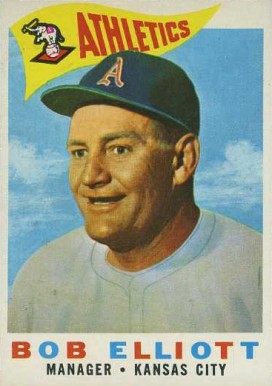 1960 Topps Bob Elliott #215 Baseball Card