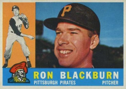 1960 Topps Ron Blackburn #209 Baseball Card