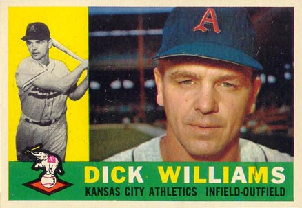 1960 Topps Dick Williams #188 Baseball Card