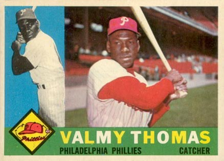 1960 Topps Valmy Thomas #167 Baseball Card