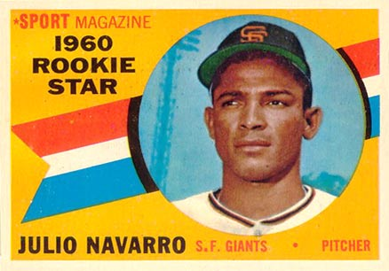 1960 Topps Julio Navarro #140 Baseball Card