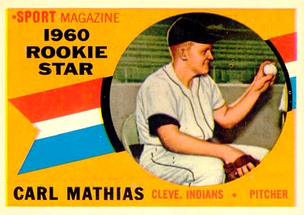 1960 Topps Carl Mathias #139 Baseball Card
