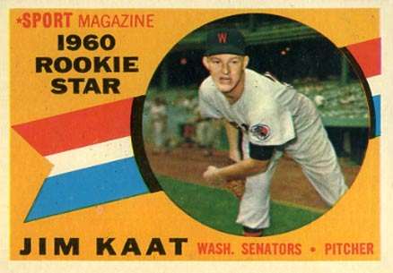 1960 Topps Jim Kaat #136 Baseball Card