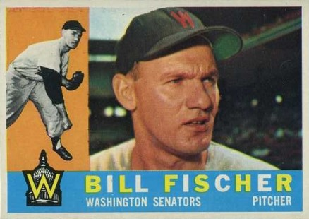 1960 Topps Bill Fischer #76 Baseball Card