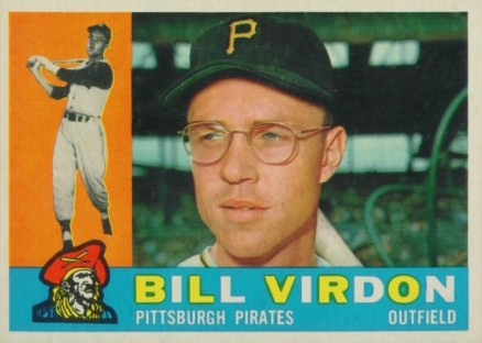 1960 Topps Bill Virdon #496 Baseball Card