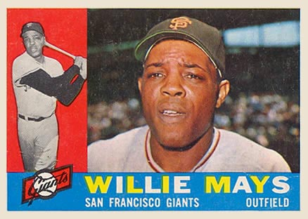 1960 Topps Willie Mays #200 Baseball Card