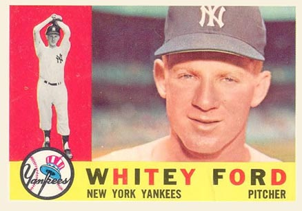 1960 Topps Whitey Ford #35 Baseball Card