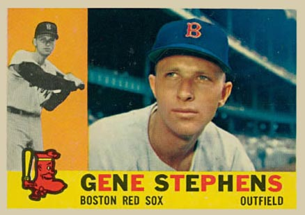 1960 Topps Gene Stephens #363 Baseball Card