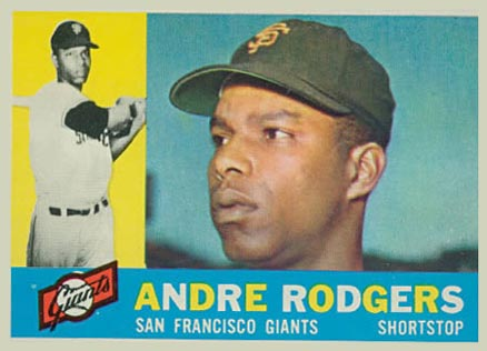 1960 Topps Andre Rodgers #431 Baseball Card