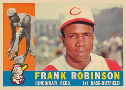 1960 Topps Frank Robinson #490 Baseball Card Value Price Guide