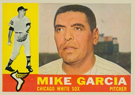 1960 Topps Mike Garcia #532 Baseball Card