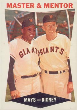 1960 Topps Willie Mays #7 Baseball Card
