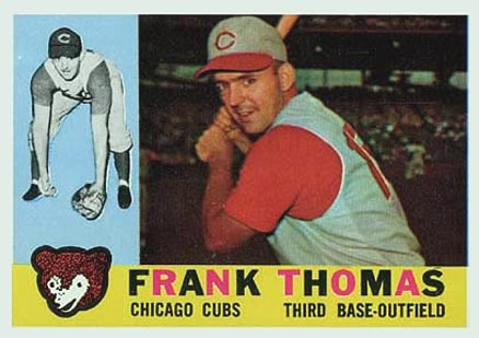 1960 Topps Frank Thomas #95 Baseball Card