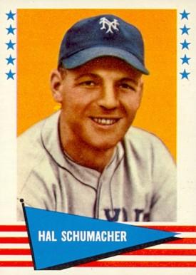 Image result for Hal Schumacher. baseball photos