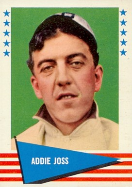 1961 Fleer Baseball Greats Addie Joss #117 Baseball Card
