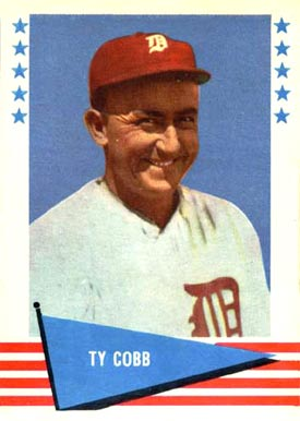 1961 Fleer Baseball Greats Ty Cobb #14 Baseball Card